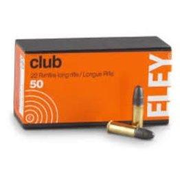 ELEY Eley Club 22 LR 40gr Ammo 50rd box (2100)