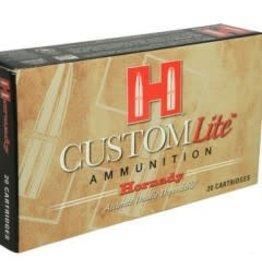 Hornady Hornady Custom Lite 308 WIN 125gr SST (80866)
