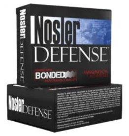 Nosler Nosler Defence 45 ACP 230gr JHP 20rd box (39645)