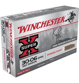 Winchester Winchester 30-06 Sprg 150gr Powerpoint (X30061)
