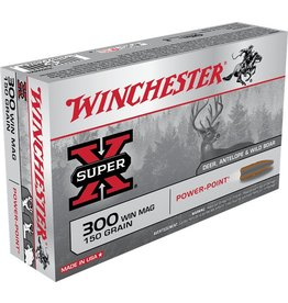 Winchester Winchester 300 Win Mag 150gr Powerpoint (X30WM1)