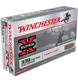 Winchester Winchester 338 Win Mag 200gr Power-Point (X3381)