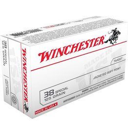 Winchester Winchester 38 Special 125gr JSP 50rd box (USA38SP)