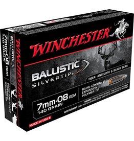 Winchester Winchester 7mm-08 Rem 140gr Ballistic Silvertip (SBST708)