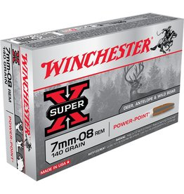 Winchester Winchester 7mm-08 Rem 140gr Powerpoint (X708)
