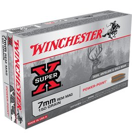 Winchester Winchester 7mm Rem Mag 150gr powerpoint (X7MMR1)
