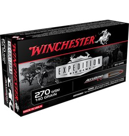 Winchester Winchester 270 WSM 140gr Accubond CT Expedition Big Game (S270WSMCT)