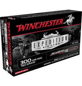 Winchester Winchester 300 Win Mag 180gr Accubond CT Expedition Big Game (S300WMCT)