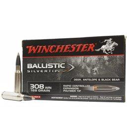 Winchester Winchester 308 Win 168gr Ballistic Silvertip (SBST308A)