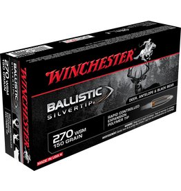 Winchester Winchester 270 WSM 150gr Ballistic Silvertip (SBST2705A)