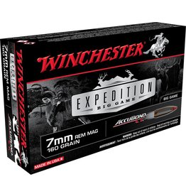Winchester 7mm Rem Mag 160gr  Accubond CT Expedition Big Game