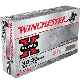 Winchester Winchester 30-06 SPRG 125gr Super X (X30062)