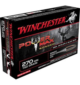 Winchester Winchester 270 WIN 150gr Power Max Bonded (X2704BP)