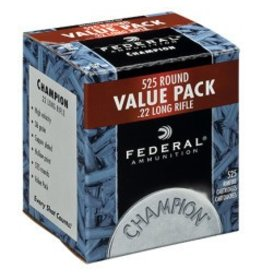 Federal Federal 22 LR 36gr HP Copper - 525rd Bulk Pack (745)