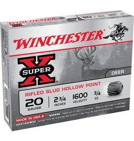 """Winchester Winchester 20GA 2.75"""" 3/4oz Rifled Slug (X20RSM5)"""