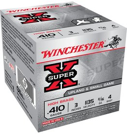 """Winchester Winchester Super X 410ga 3"""" 11/16oz #4 (X4134)"""