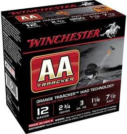 "Winchester Winchester AA Tracker 12GA 2 3/4"" 7.5 Shot  AAHA127TO"