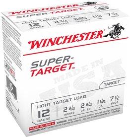 "Winchester Winchester Target 12GA 2.75"" 1 1/8oz #7.5 (TRGT12M7)"