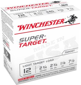 "Winchester Winchester Target TRGT12M8 12GA 2.75"" 1 1/8oz #8"