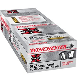 Winchester Winchester X 22Mag 40gr FMJ