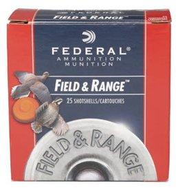 """Federal Federal Field & Range FRL128 12GA 2.75"""" 1oz #8"""