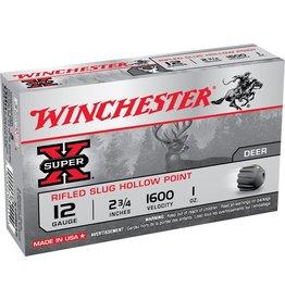 """Winchester Winchester 12GA 2.75"""" 1oz Slug 15rds (X12RS15VP)"""