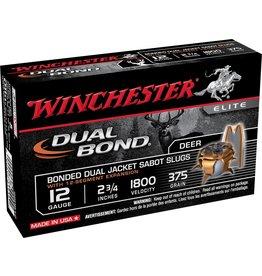 "Winchester Winchester Supreme 12GA 2.75"" 375gr Dual Bond Sabot Slug (SSDB12)"