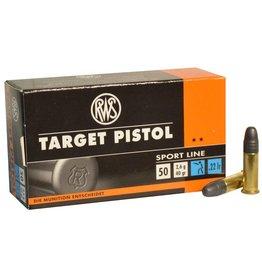 RWS RWS Target Rifle 22 LR 40gr 50rd box (13247)