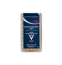 CCI CCI 22 WMR Maxi-Mag HP +V 30gr Varmint 50rd box (0059)