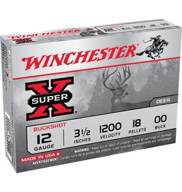"""Winchester Winchester 12GA 3.5"""" 00 Buck (XB12L00)"""