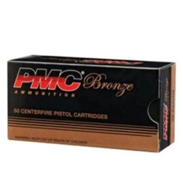 PMC PMC Bronze 40 S&W 180gr FMJ-FP 50rd box (40E)