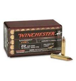 Winchester Winchester 22 Win Mag 30gr Varmint HV  Polymer Tip V-Max ( S22M2PT)
