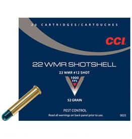CCI CCI 22 WMR Maxi Mag Shotshell #12 Shot (0025)