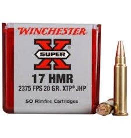 Winchester Winchester 17 HMR 20gr Super X JHP 50rd box (X17HMR1)