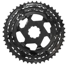 e*thirteen replacement Aluminum Cogs for TRS Plus 11-Speed Cassette, 33-46t, Black