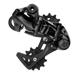 SRAM GX DH Rear Derailleur - 7 Speed, Medium Cage, Black