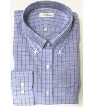 Enro Enro Knox Hill Check Blue Button Down Big &Tall Shirt