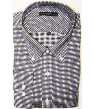 Damon Damon Chula Vista Check Brown Button Down Shirt