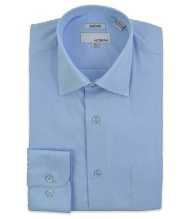 Modena Contemporary Fit Dress Shirt Blue