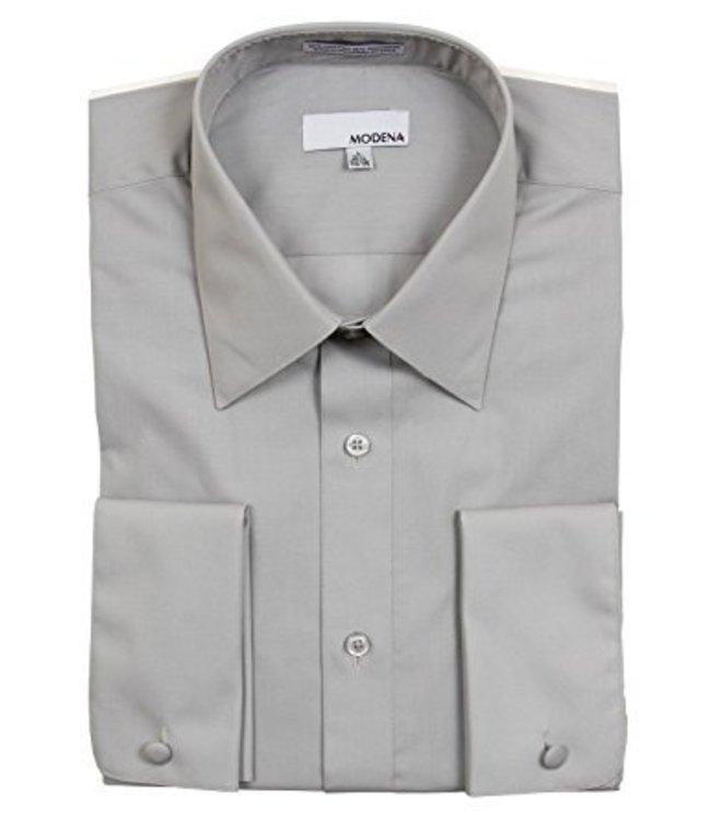 Modena Short Dress Shirt Gray