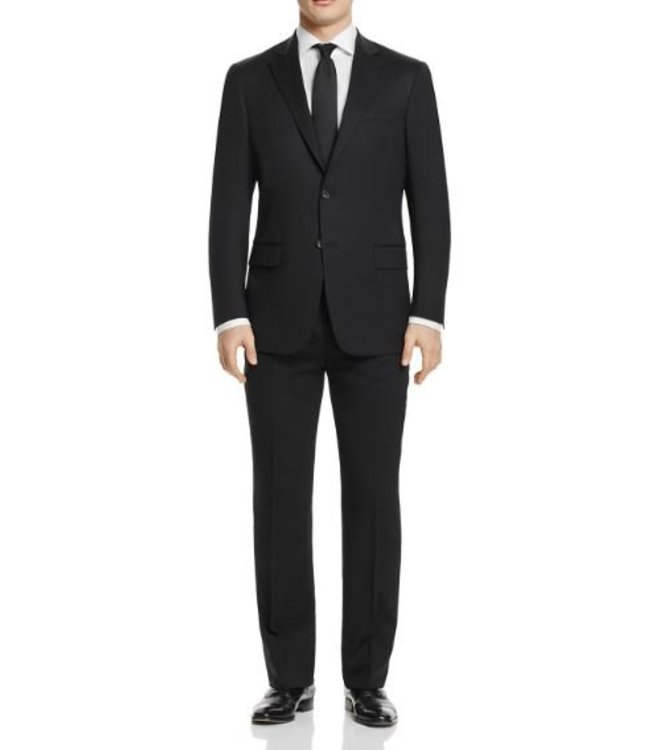 Hart Schaffner Marx Hart Schaffner Marx - 98% Worsted Wool, 2% Lycra New York Fit Suit in Black