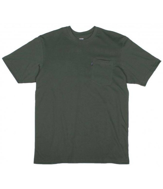 Key Work Clothes KEY BLENDED TEE IN FOREST GREEN 822.36