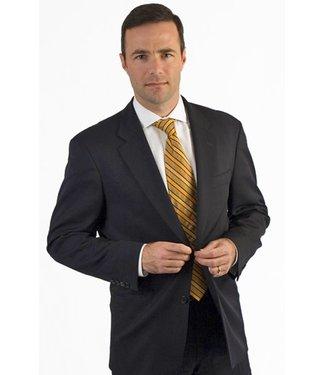 Petrocelli Suit Separates SCOTT Jacket Black Solid 59002