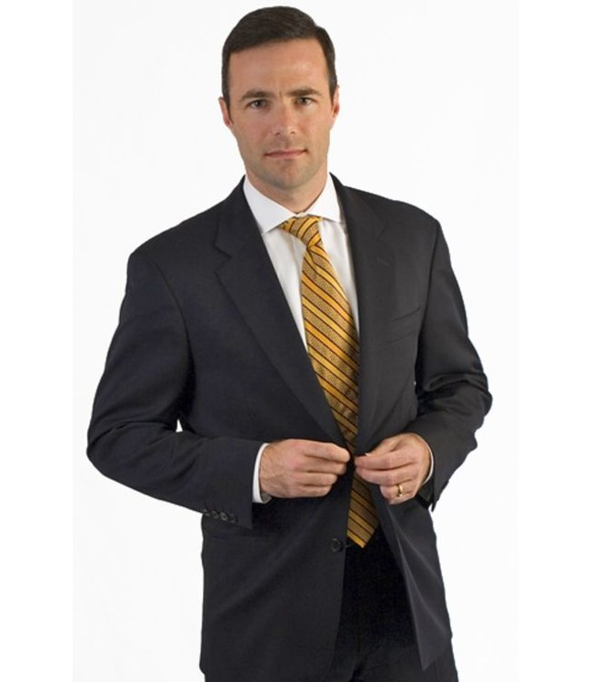 Petrocelli Suit Separates Pants Black Solid 59502