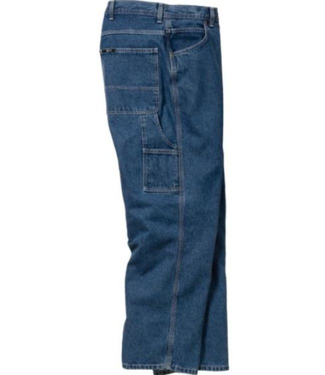 Key Work Clothes Ring Spun Denim Dungaree, Relaxed Fit