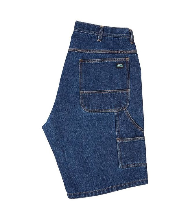 Key Work Clothes Denim Shorts, Dungaree Style