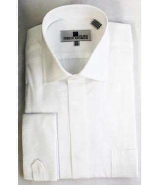 100% Cotton French Cuff Spread Collar Dress Shirt