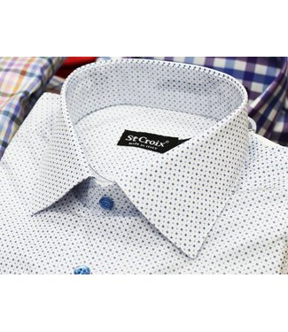 St. Croix LS Neat PTTN Print Shirt CC