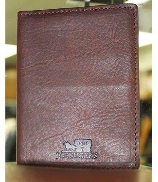 Joe Sugar's Joe Sugar's Large Bi-Fold Wallet Genuine Bison Leather Made in USA