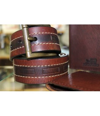 Joe Sugar's Joe Sugar's Genuine American Bison Leather Belts Regular Sizes